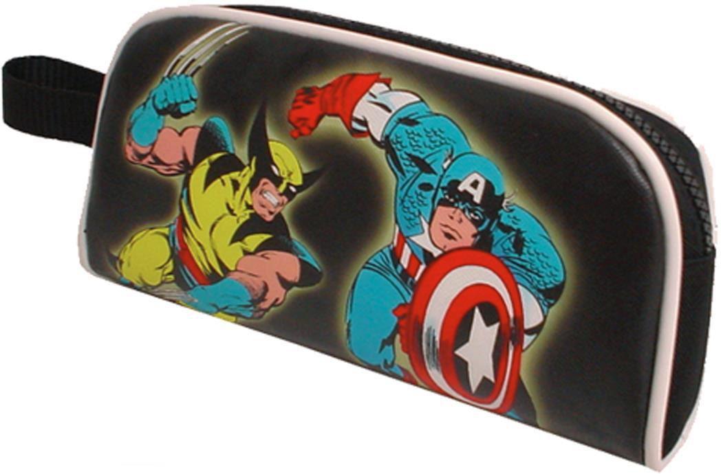 Κασετίνα marvel comics 21x10 εκ. Next 17534 παιδί   τσάντες δημοτικού   κασετίνες