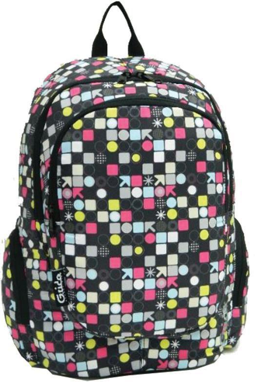 Τσάντα πλάτης global circles με 2 θήκες 44x31x18 εκ. Bagtrotter 29749 παιδί   τσάντες δημοτικού   για κοριτσια