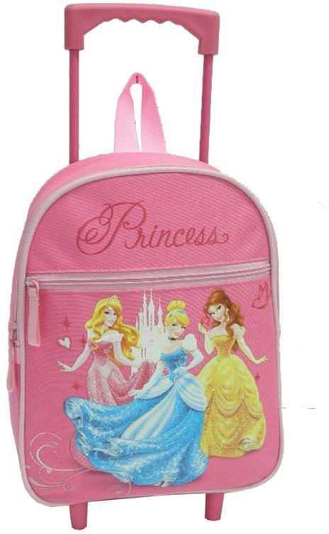 Τσάντα νηπίου τρόλευ princess με 2 θήκες 31x25x10 εκ. Bagtrotter 29769 παιδί   τσάντες νηπιαγωγείου   για κοριτσάκια