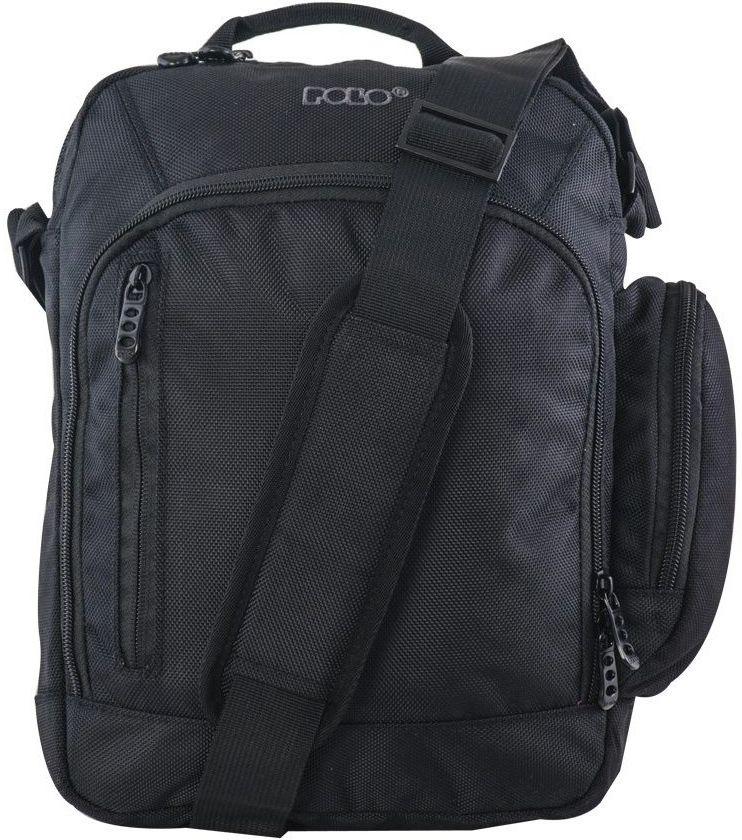 Τσαντάκι Ώμου Meeting bag μαυρο Polo 9-07-003-02 τσαντάκια   τσαντάκια ώμου