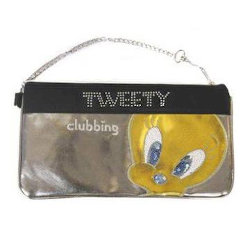 Πορτοφολι clubbing ασημι tweety 6912-0447 πορτοφολια   αξεσουάρ   πορτοφολια   παιδικά