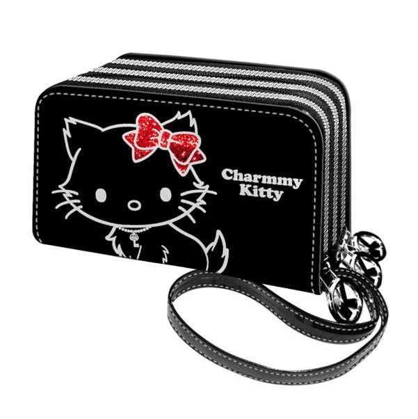 Τριπλο πορτοφολι meow charmmy kitty 6811-0638 παιδί   πορτοφολια   teens