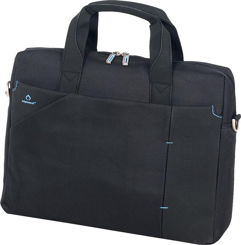 Χαρτοφυλακας για Laptop 17 Inches LE 75 L Diplomat Μαύρο ανδρας   χαρτοφύλακες