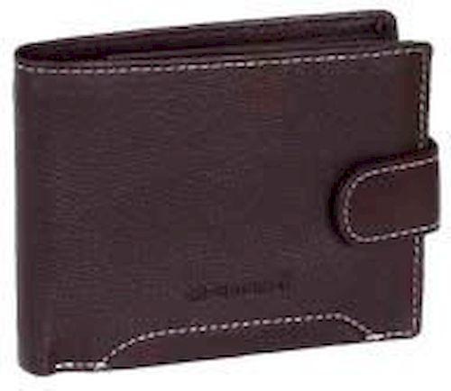 Οριζόντιο Ανδρικό Πορτοφόλι με Κούμπωμα MN 302 Diplomat Καφε πορτοφολια   αξεσουάρ   πορτοφολια   ανδρικά