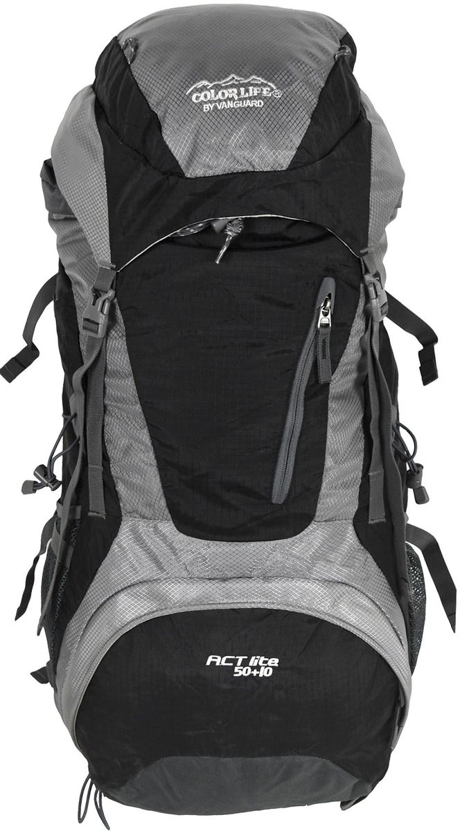 Ορειβατικό Σακίδιο 60lt Net Adventure Colorlife 172 Μαύρο