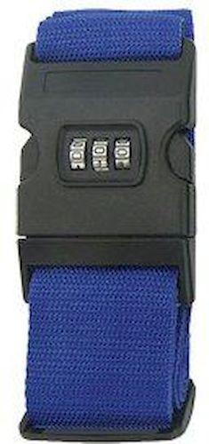 Ιμάντας Βαλίτσας Με Συνδυασμό M303 Μπλε ειδη ταξιδιου   βαλίτσες   αξεσουαρ ταξιδιου   ασφάλεια αποσκευών