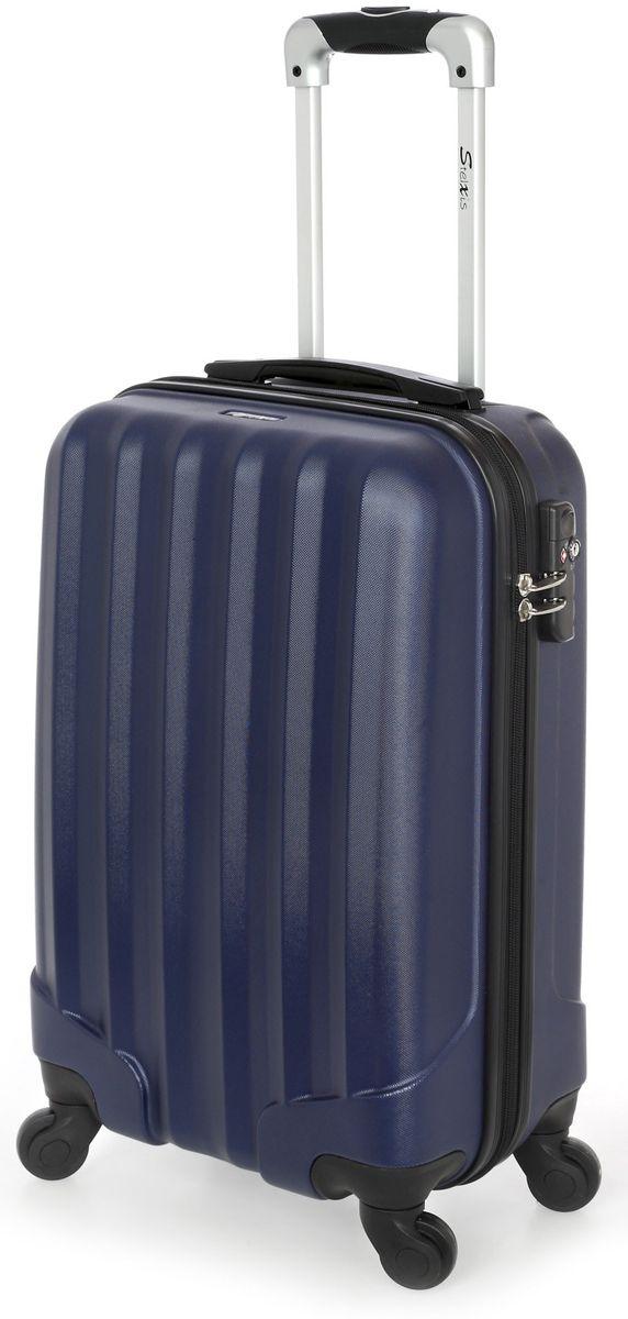 Βαλίτσα Καμπίνας Σκληρή 4 Ρόδες 55 εκ Stelxis 505-55 Μπλε