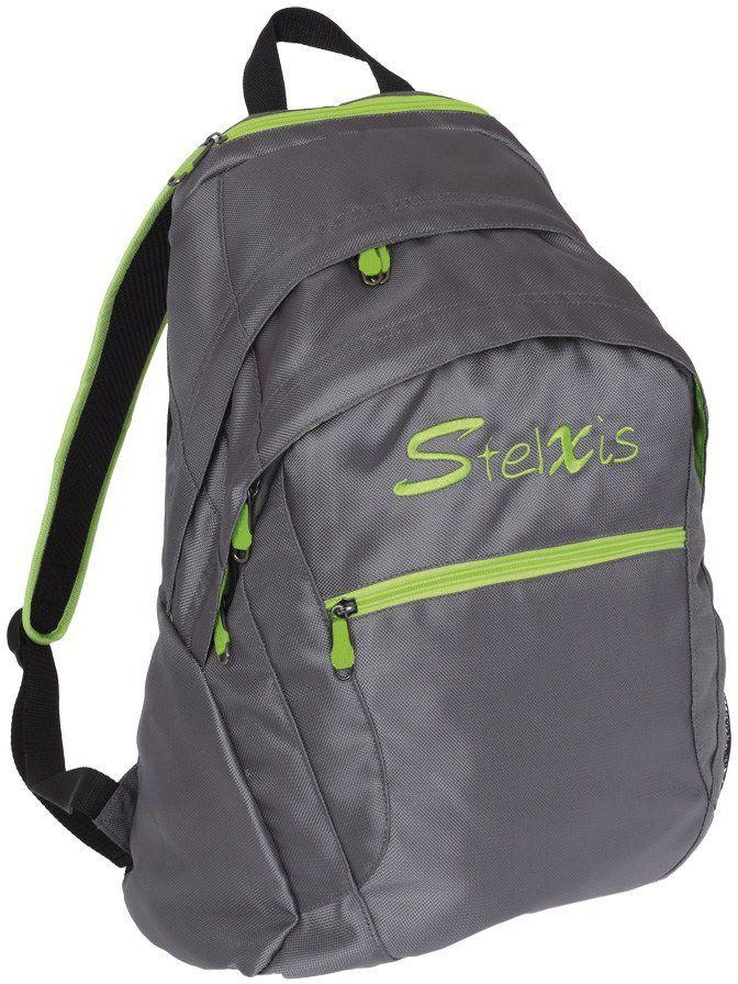 Τσάντα πλάτης Stelxis ST 415 Γκρι/λαχανί