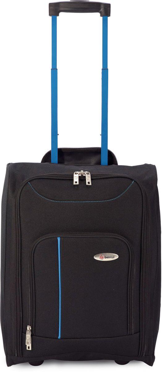Βαλίτσα Καμπίνας Τρόλευ Αναδιπλούμενη BENZI BZ4891 Μαύρο/Μπλε