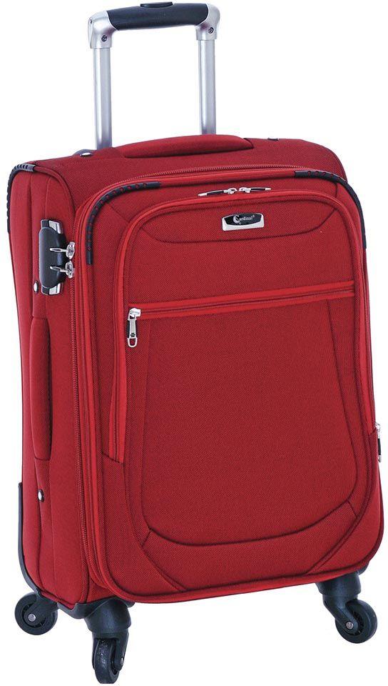 Βαλίτσα Καμπίνας με 4 Ρόδες Cardinal 6403/50 Μπορντώ