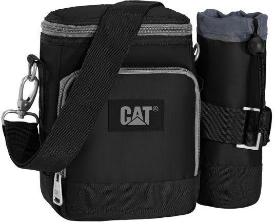 6d3515917a Bagz Τσαντάκι Ώμου City Bag Caterpillar 83195 Μαύρο