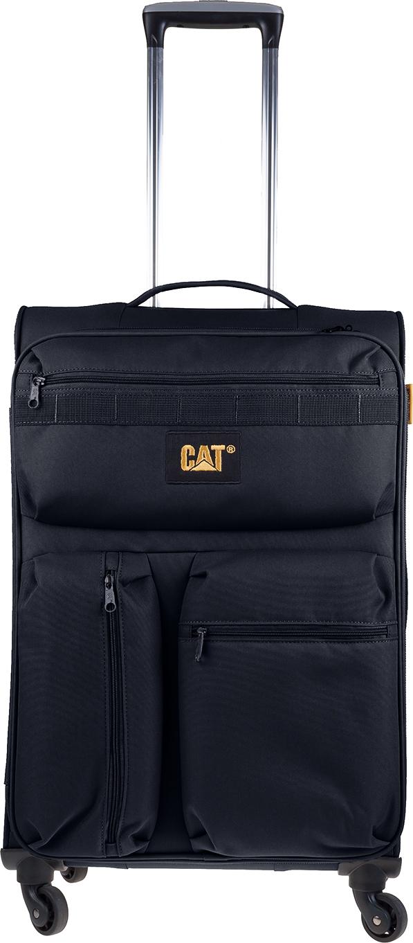 Βαλίτσα Τρόλευ 67 εκ. με 4 Ρόδες Cube-Compact-Nested Caterpillar 83349 Μαύρο ειδη ταξιδιου   βαλίτσες   βαλίτσες   βαλίτσες μεσαίου μεγέθους