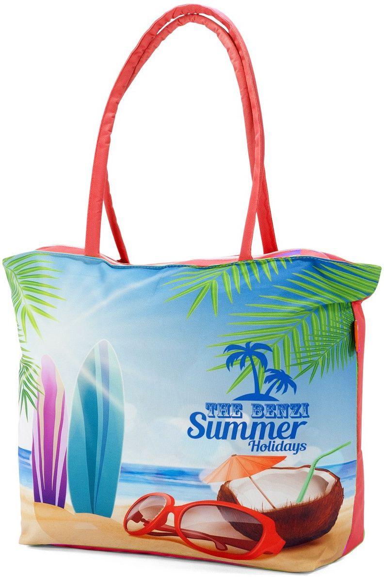Τσάντα Θαλάσσης Benzi BZ5000 Κόκκινο γυναίκα   τσάντες παραλίας