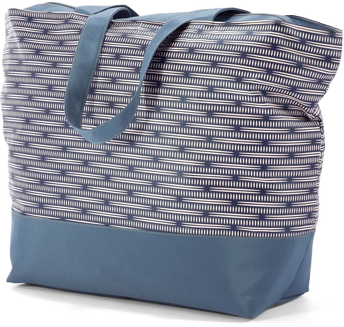 Τσάντα Θαλάσσης Benzi BZ5003 Μπλε/Άσπρο γυναίκα   τσάντες παραλίας
