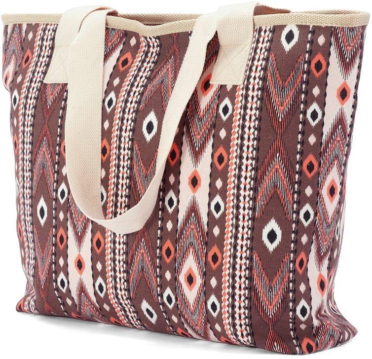 Τσάντα Θαλάσσης Benzi BZ4808 Κεραμιδί γυναίκα   τσάντες παραλίας