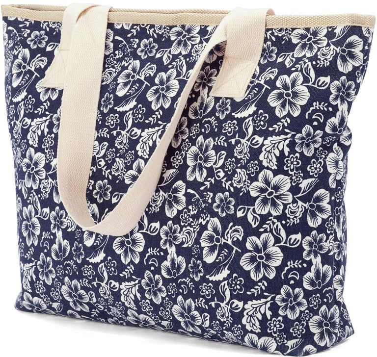 Τσάντα Θαλάσσης Flowers Benzi BZ4808 γυναίκα   τσάντες παραλίας