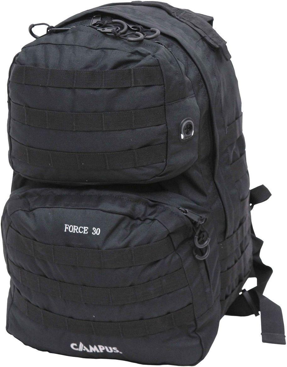 Σακίδιο Πλάτης 30lt Campus Force 30 Μαύρο Campus 810-9815-14 σακίδια   τσάντες   ορειβατικά σακίδια