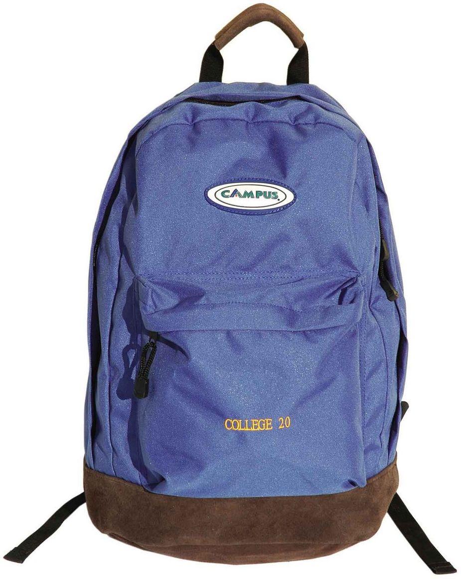 Σακίδιο Πλάτης 20lt College Μπλε Campus 810-2060-1 σακίδια   τσάντες   τσάντες πλάτης