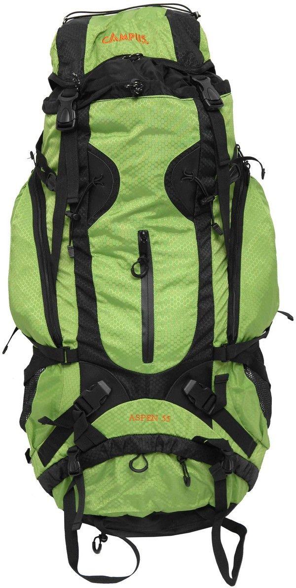 Ορειβατικό Σακίδιο 55lt Aspen Πράσινο Campus 810-2015-3 σακίδια   τσάντες   ορειβατικά σακίδια