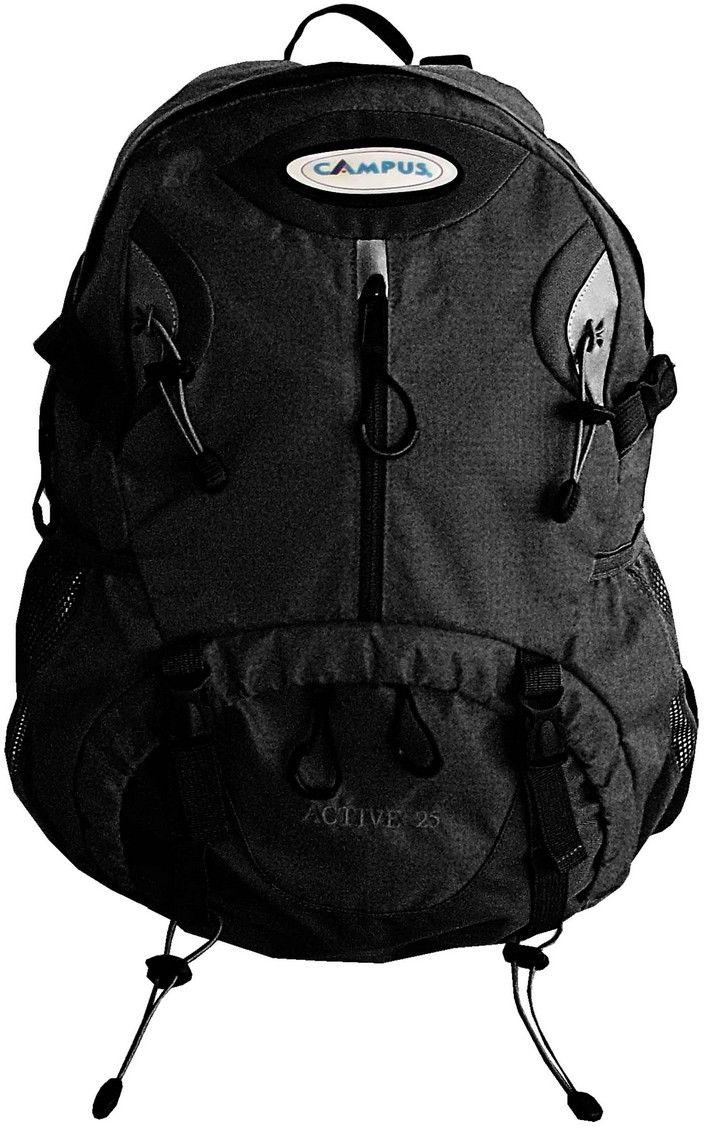 Σακίδιο Πλάτης 25lt Active 25 Μαύρο Campus 810-6111-14 σακίδια   τσάντες   ορειβατικά σακίδια