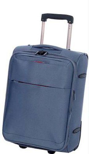 Βαλίτσα Καμπίνας τρόλεϊ Diplomat ZC 6039 51x37x23εκ Μπλε ειδη ταξιδιου   βαλίτσες   βαλίτσες   βαλίτσες καμπίνας