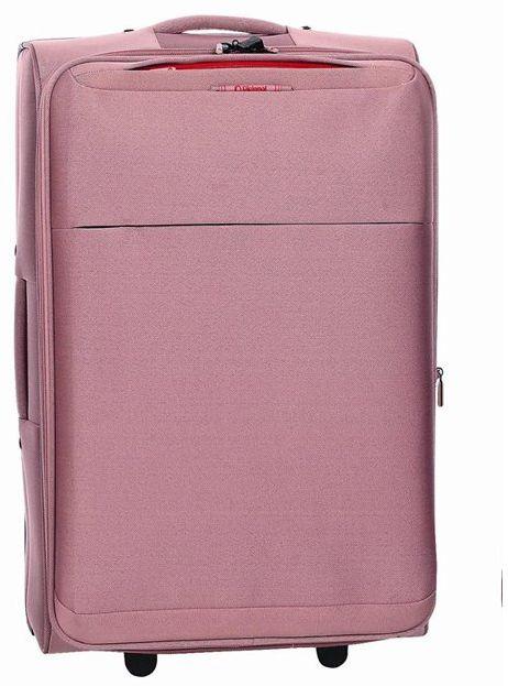 Βαλίτσα Καμπίνας τρόλεϊ Diplomat ZC 6039 51x37x23εκ Ροζ