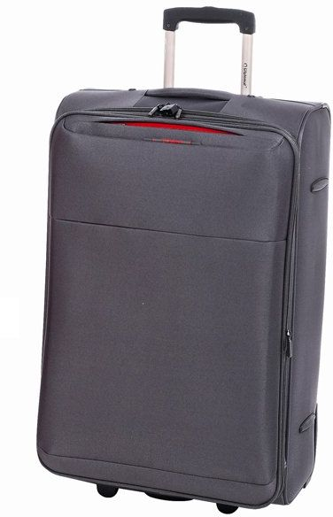 Βαλίτσα τρόλεϊ 61εκ. Diplomat ZC 6039 Γκρι ειδη ταξιδιου   βαλίτσες   βαλίτσες   βαλίτσες μεσαίου μεγέθους