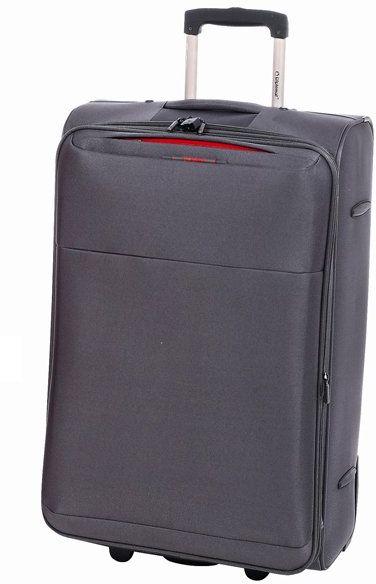 Βαλίτσα τρόλεϊ 71εκ. με Επέκταση Diplomat ZC 6039 Γκρι ειδη ταξιδιου   βαλίτσες   βαλίτσες   βαλίτσες μεγάλες