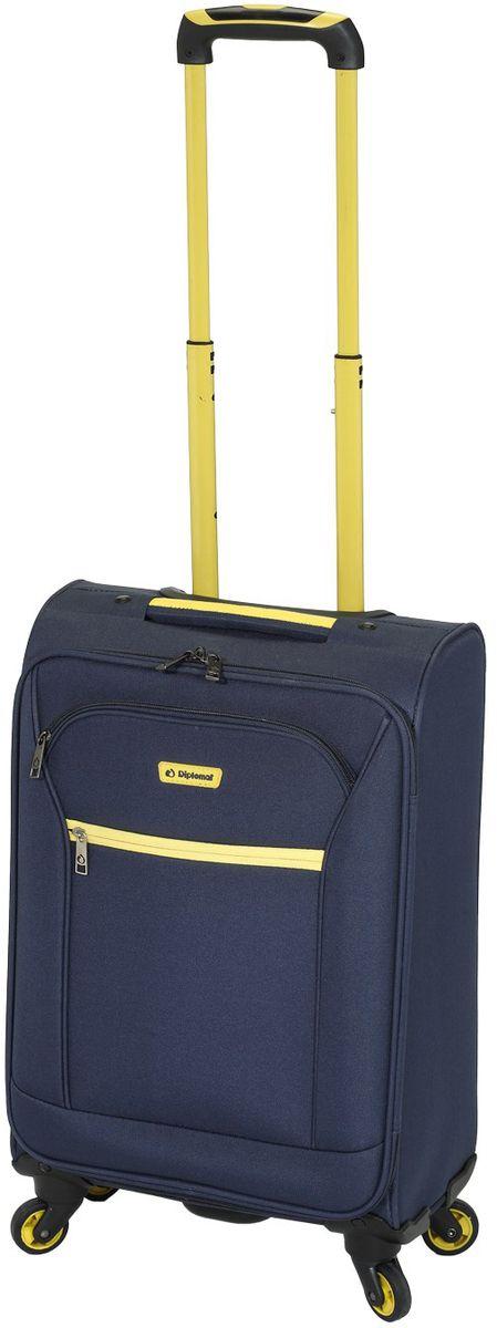Βαλίτσα τρόλεϊ με 4 ρόδες 59εκ. Diplomat ZC 974-61 Μπλε ειδη ταξιδιου   βαλίτσες   βαλίτσες   βαλίτσες μεσαίου μεγέθους