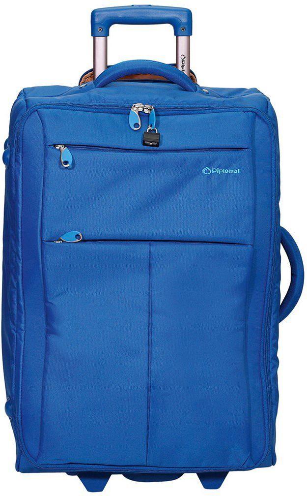 Βαλίτσα τρόλεϊ 71εκ. Diplomat ZC 8004-71 Μπλε ειδη ταξιδιου   βαλίτσες   βαλίτσες   βαλίτσες μεγάλες