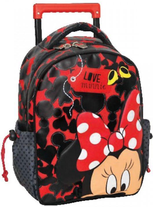 Τσάντα Trolley Νηπιαγωγείου Minnie GIM 340-57072 παιδί   τσάντες νηπιαγωγείου   για κοριτσάκια