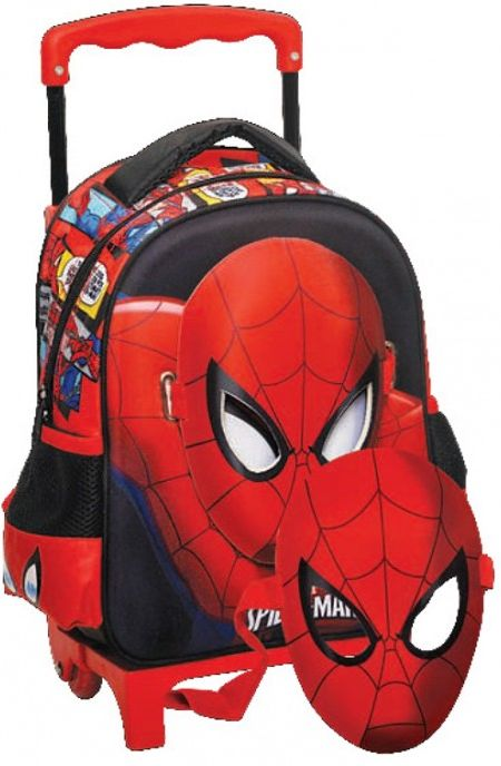 5bae306d89c Trolley Νηπιαγωγειου Spiderman με Μάσκα GIM 337-66072