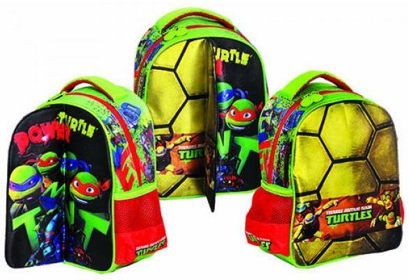 44f4de8c94 Τσαντα Νηπιαγωγειου Turtle Power Ninja GIM 334-08054
