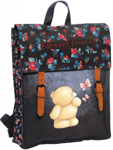 Τσάντα Πλάτης με Flap Forever Blue Line BMU 333-85212 σακίδια   τσάντες   τσάντες πλάτης