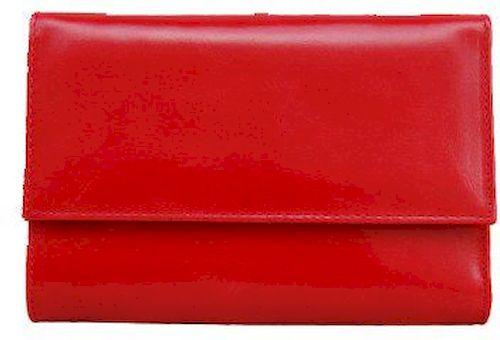 Δερμάτινο Γυναικείο Πορτοφόλι 15.5x10.5 εκ. Kouros 2013 Κοκκινο πορτοφολια   αξεσουάρ   πορτοφολια   γυναικεία