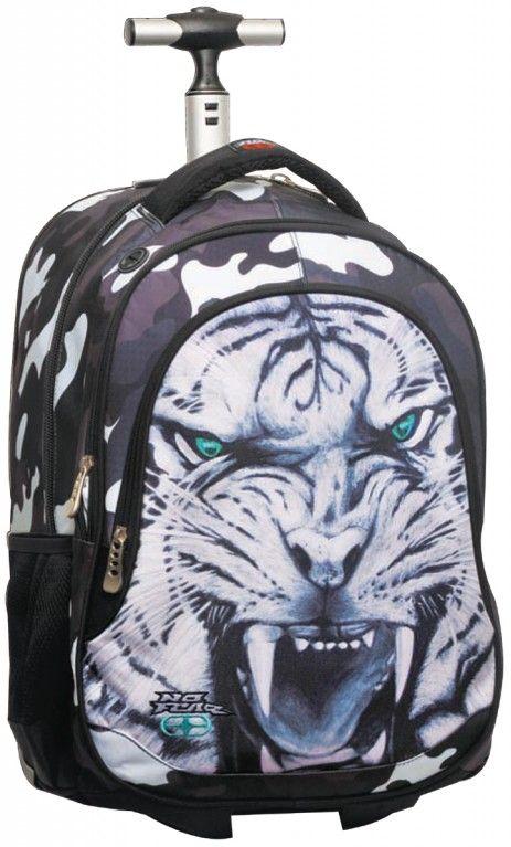 Τσαντα Δημοτικου Trolley No Fear Tiger BMU 347-31074 σχολικες τσαντες   τσάντες δημοτικού   για αγορια