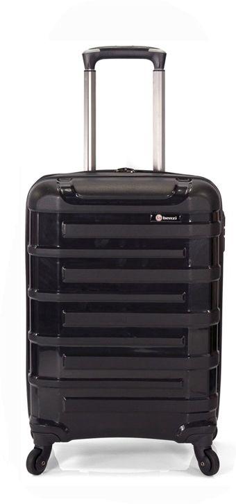 e1010008f7 Βαλίτσα Καμπίνας Τρόλεϊ με 4 ροδάκια Benzi BZ5101 Μαύρο
