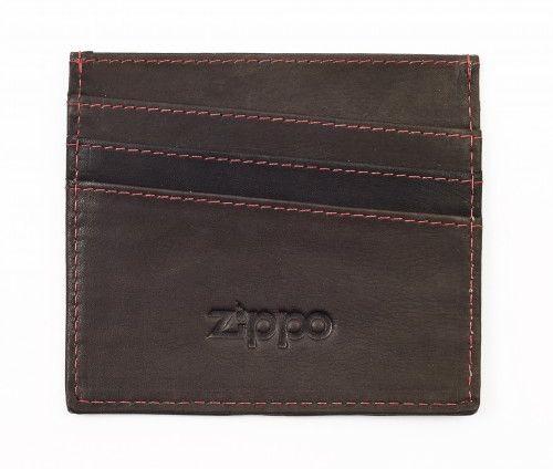Δερματινο Πορτοφόλι 10x8.7cm Zippo 127 Mocha πορτοφολια   αξεσουάρ   πορτοφολια   ανδρικά