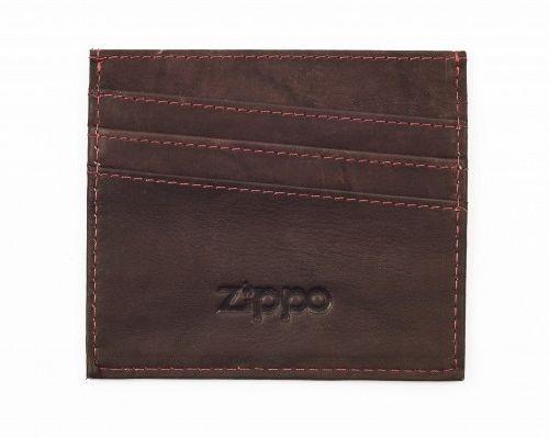 Δερματινο Πορτοφόλι 10x8.7cm Zippo 128 Καφε πορτοφολια   αξεσουάρ   πορτοφολια   ανδρικά