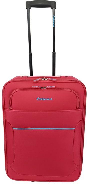 Βαλίτσα καμπίνας τρόλεϊ 55Χ38Χ20 Diplomat ZC 3001 Κόκκινο ειδη ταξιδιου   βαλίτσες   βαλίτσες   βαλίτσες καμπίνας