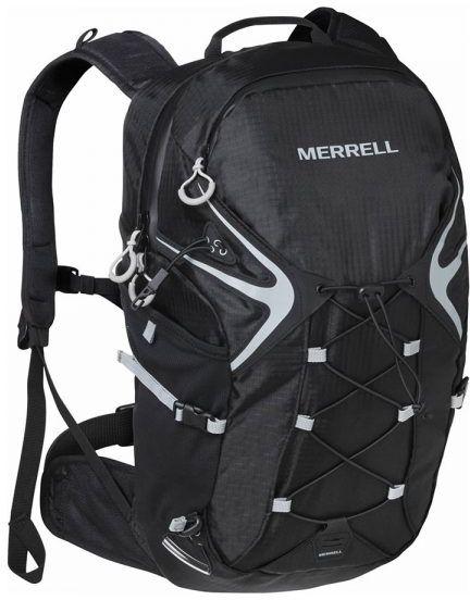 Σακιδιο Πλατης Trail με Κυστη Νερου Merrell 24348 Μαυρο σακίδια   τσάντες   τσάντες πλάτης