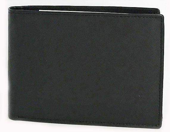 Δερματινο Ανδρικο Πορτοφολι Kouros 10x13.5 cm 4601B Μαυρο ανδρας   πορτοφόλια