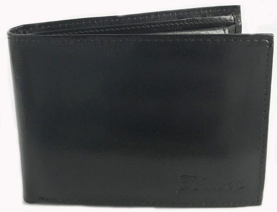 Δερματινο Ανδρικο Πορτοφολι 13x9 cm Kouros 1005 Μαυρο ανδρας   πορτοφόλια