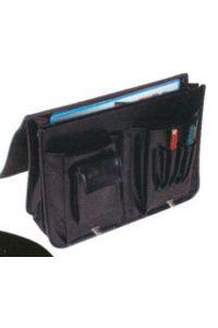 Τσάντα επαγγελματική δερματίνη μαύρη υ30x40x8 εκ. Next 19092