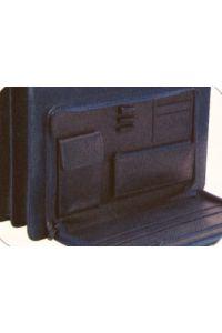Τσάντα επαγγελματική με ιμάντα μαύρη υ42x30x9 εκ. Fineline 19093