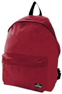 Τσάντα πλάτης με 2 θήκες 40x29x16.5 εκ Montana 29784-02 Κοκκινο