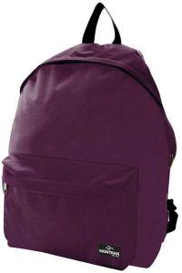 Τσάντα πλάτης με 2 θήκες 40x29x16.5 εκ Montana 29784-42 Μωβ