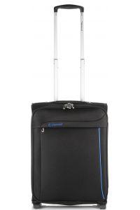 Βαλίτσα καμπίνας τρόλεϊ 51x39x21 Diplomat ZC 6200-51 Μαυρο