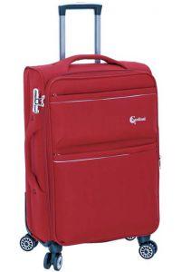 Βαλίτσα 60cm Trolley Cardinal 4600/60 Κόκκινο