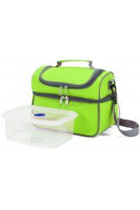 Ισοθερμική Τσάντα Benzi με Πλαστικό Δοχείο Φαγητού BZ5123 Λαχανί
